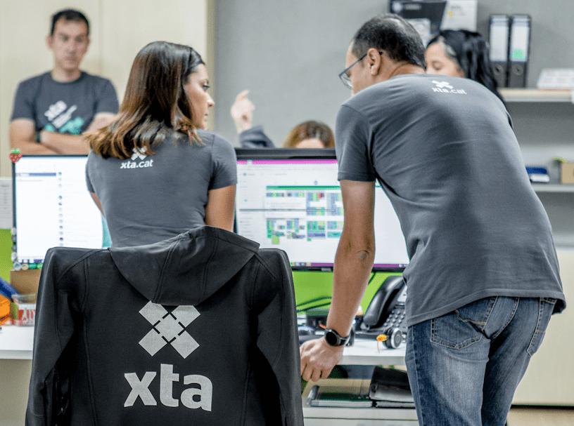 Oficines d'XTA a la Granada