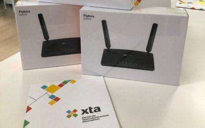 Ajudem a proveir de routers 4G a alumnes del Penedès